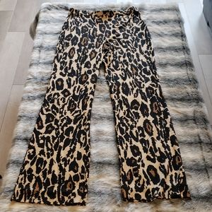 Diane Von Furstenberg silk small bottom leopard